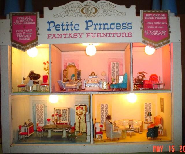The Original 1964 Ideal Petite Princess Fantasy Furniture Collection